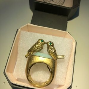 "Juicy Couture Jewelry - Juicy Couture ""Kissing Birds"" Ring"